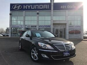 2013 Hyundai Genesis 3.8 PREM|LEATHER|BACK-UP CAM|HEATED SEATS|A