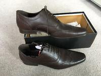Unworn Red Tape Brown Men's size 10 leather shoe