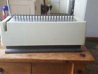 GBC 21 Hole Binding Machine With Binding