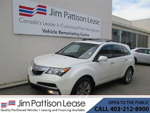 2013 Acura MDX 3.7L AWD Elite Package 7 pass w/NAV & DVD