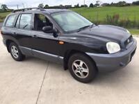 2004 Hyundai Santa Fe 2.7 V6 petrol automatic full year mot may take cheap px