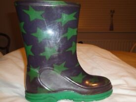 BOYS WELLINGTON BOOTS - SIZE 10 - GREAT CONDITION