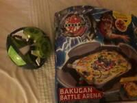 Bakugan arena and storage car toy