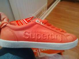 brand new girls/ladies superdry trainers