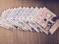 25 Beautiful Homes (14 magazines)
