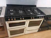 Stoves Double Oven Gas Range Cooker 110cm width