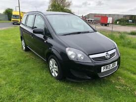 13 REG VAUXHALL ZAFIRA 1.6 i VVT 16V EXCLUSIV 5DR-GENUINE VERY LOW MILES-2 KEYS-12 MONTH MOT