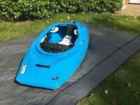 Titan Genesis VII Playboat kayak. Blue.