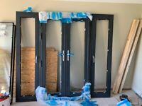Aluminium french casement doors & tilt & turn side lights. 2270mm x 2100mm