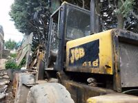 JCB 416 Loading Shovel (Spares or Repairs)