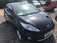 2010 FORD FIESTA ZETEC 1.2 Full History New Mot Bluetooth Alloy Wheels