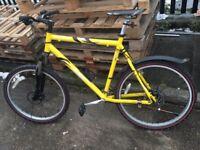 Aluminium frame bike