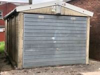 Secure concrete garage for sale