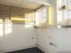 Large bright warehouse space available in central Dalston