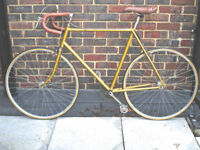 Superb Vintage Raleigh Single Speed freewheel/not fixie, Serviced