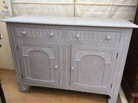 Pretty vintage sideboard dresser cupboard
