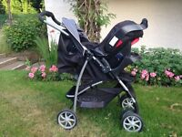 2 in 1 pushchair and car seat