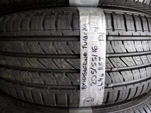 1 summer tire bridgestone turanza el42 runflat 205/55r16