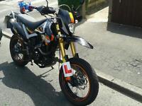 125cc pulse adrenaline 64reg