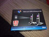 Bt advance 8600'call blocker twin pack phones
