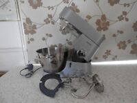 Excellent condition Kenwood food mixer including all the attachments only used the dough hook