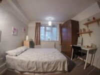 Nice single room in flat with living room, north london
