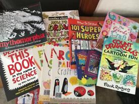 Art/Projects/Craft books for children.