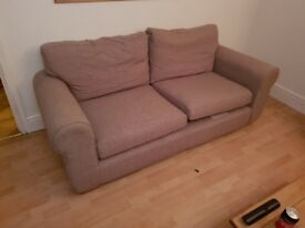 14 month old NEXT two seater sofa and single couples sharer sofa chair
