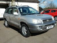 2002 hyundai santa fe 2.0 diesel with only 86000 miles, motd july 2018