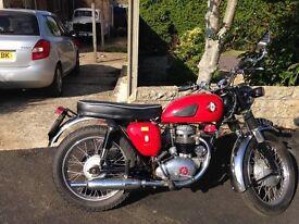1962 BSA B40 350 Classic Motorcycle