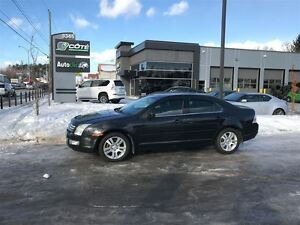 2009 Ford Fusion SEL - 128472km/ CUIR/ V6 *** FINANCEMENT 100%