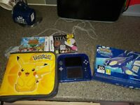 NINTENDO 2DS pokemon alpha sapphire, perfect condition. With games
