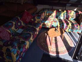 2 ikea 2 seater matching sofas