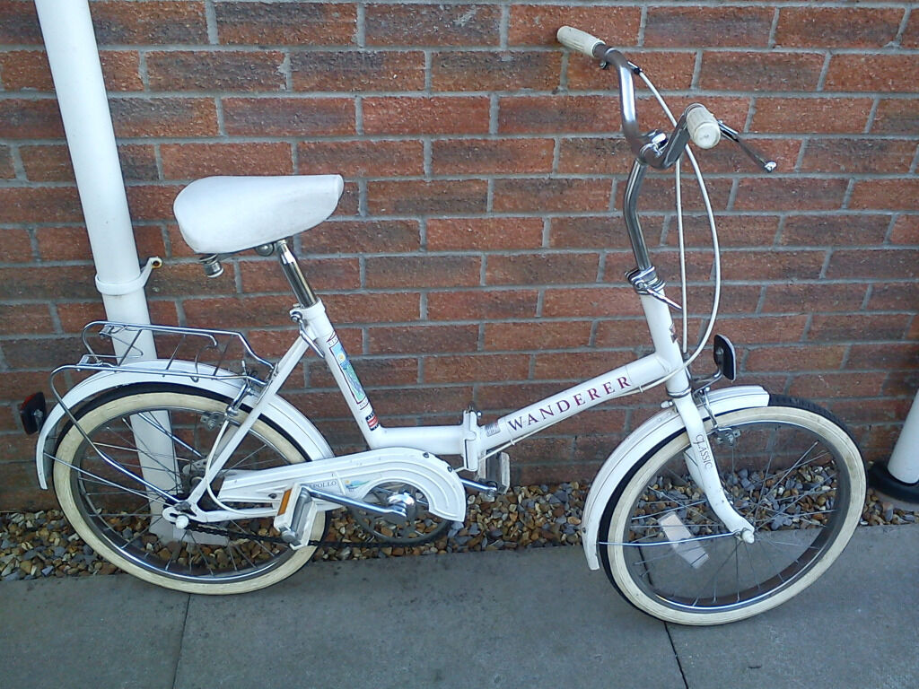 Vintage Retro Apollo Wanderer Folding Bike Bicycle  in