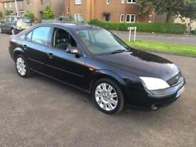Ford mondeo 2003 mot 1 year (AUTOMATIC)