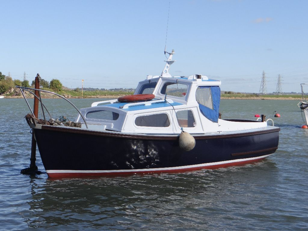Boat for sale parkstone bay 21ft mitchell sea fishing for Jet fishing boats for sale