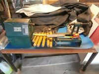 Begginers Wood Turning Lathe & Quality Marples / Henry Taylor Tools