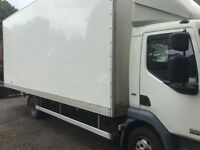 Daf 7.5 tonne box truck