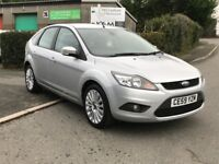 2009 59 Ford Focus 1.6 Titanium 5dr, Only 48000 with FSH, Finance available