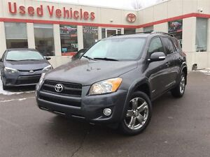 2012 Toyota RAV4 SPORT, LEATHER, SUNROOF, POWER