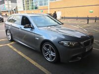 2011 BMW 525D M SPORT SLIGHTLY DAMAGE