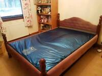Hard Sided King size waterbed