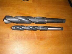 x2 Mega drill bits. Dormer 40 & Cleveland 1/64. Never used!