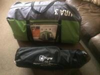 Three man tent for sale