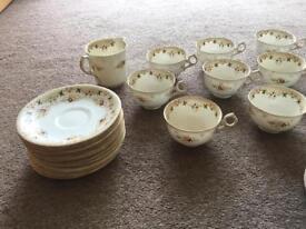 Fenton, England; China Tea Set