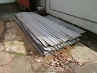 FREE TO COLLECT quantity of corrugated iron roofing sheets
