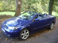2005 1.8 ASTRA BERTONE EXCLUSIVE CONVERTIBLE,LOW MILES,STUNNING CONDITION.