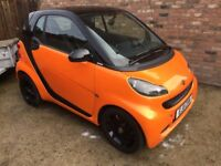 Very limited edition Nightorange 2011/11 Smart ForTwo 1.0 mhd, 2 owners, 31,000 miles