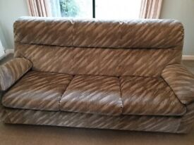 Lovely 3 seater sofa and armchair