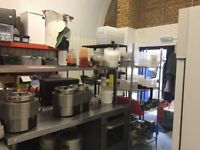 Used Catering Equipment, Chest Freezer, Fridges, Worktops, Racking, Sink